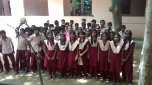 Group Photo on Teacher's Day with Cloud Vidyashram Batch