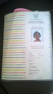 My Personalised Report Card